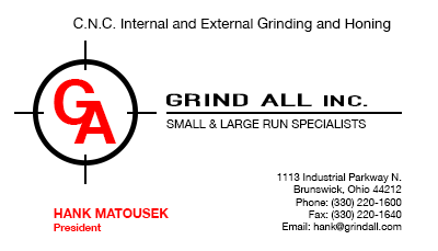 Grind All, Inc.