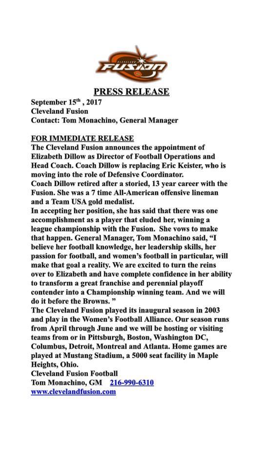 Press Release Sept 2017